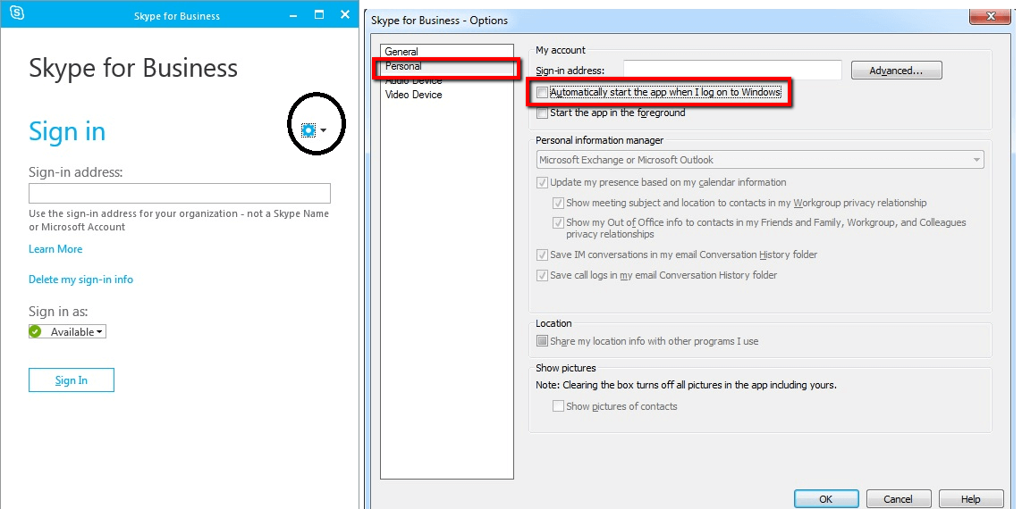 uninstall Skype for Business from Office 365